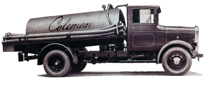 Coleman Vacuum Systems Classic Truck Image | Nassau & Suffolk County Long Island, NY, Vacuum Truck Sales & Repair