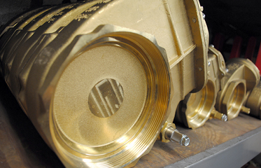 Brass Lever Valve Image | Coleman Vacuum Systems, Suffolk County, Long Island, NY